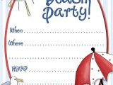 Beach Party Invitation Template Party Invitation Template Download In Psd Pdf