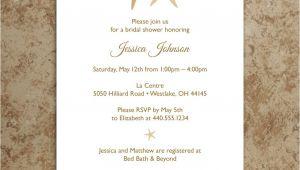 Beach theme Bridal Shower Invitation Template 5 Best Of Beach Wedding Invitations Printable