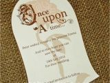 Beauty and the Beast Inspired Wedding Invitations Beautiful Beauty and the Beast Inspired Invite for