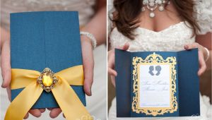 Beauty and the Beast Inspired Wedding Invitations Weddingblvd Disney Wedding Beauty the Beast