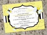Bee themed Baby Shower Invites Bee Baby Shower Invitation Bay Bee Shower Invitation