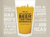 Beer Tasting Birthday Party Invitations Beer Tasting Invitation Flyers and Brochures Pinterest