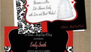 Betty Boop Bridal Shower Invitations Personalized Invitations
