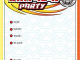 Beyblade Birthday Invitation Template Beyblade Birthday Party Invitations