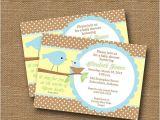 Bible Verses for Baby Shower Invitations Bird Baby Shower Invitation Diy Printable by