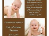 Bible Verses for Baptism Invitations Baptism Invite with Bible Verse