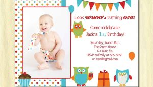 Birthday Invitation Cards for 1 Year Old Boy Owl Birthday Boy Invitation First Birthday 1 2 3