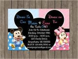 Birthday Invitation Cards for 1 Year Old Twins 10 Best Twins 1st Birthday Images On Pinterest Birthday