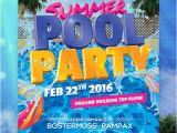 Birthday Invitation Design Template Psd 33 Printable Pool Party Invitations Psd Ai Eps Word