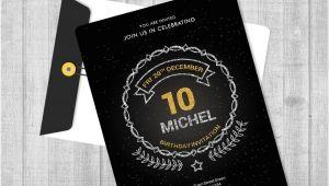 Birthday Invitation Design Template Psd Birthday Invitation Template 32 Free Word Pdf Psd Ai