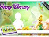Birthday Invitation Design Template Psd Tinkerbell Birthday Template Psd Xonekdesign