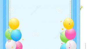 Birthday Invitation Frames Party Invitation Frame Stock Vector Illustration Of