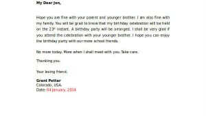 Birthday Invitation Letter format In English 35 Sample Invitation Letters Pdf Word Apple Pages