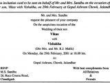 Birthday Invitation Letter format In Hindi Contoh Invitation Informal Birthday Contoh War