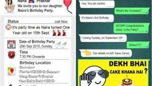 Birthday Invitation Message for Whatsapp This Father Created A Unique Birthday Invitation Card for