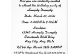 Birthday Invitation Reminder Template Just A Reminder Humpty Dumpty Birthday Party 4 25×5 5