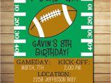 Birthday Invitation soccer Template Free Printable Football Birthday Invitations Free