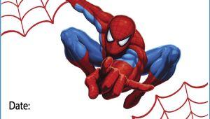 Birthday Invitation Spiderman theme Free Printable Spiderman Party Invitations On Www