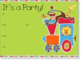 Birthday Invitation Template Child 5 Best Images Of Email Background Templates Kids Party