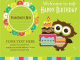 Birthday Invitation Template Child Birthday Invitation Card Template for Kids