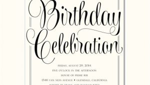 Birthday Invitation Template for Adults 40 Adult Birthday Invitation Templates Psd Ai Word