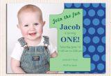 Birthday Invitation Template for Baby Boy 16 Best First Birthday Invites Printable Sample
