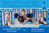Birthday Invitation Template for Baby Boy Baby Boy 1st Birthday Invitations Free Printable Baby