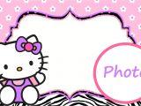 Birthday Invitation Template Hello Kitty Hello Kitty Free Printable Invitation Templates