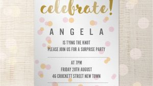 Birthday Invitation Template Indesign Party Invitation Customisable A5 Indesign Template