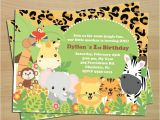 Birthday Invitation Template Jungle theme 17 Animal themed Invitation Designs Templates Psd Ai