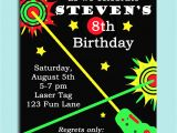 Birthday Invitation Template Laser Tag 40th Birthday Ideas Free Laser Tag Birthday Invitation