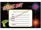 Birthday Invitation Template Laser Tag Free Laser Tag Invitation Template Omg Invitation