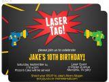 Birthday Invitation Template Laser Tag Laser Tag Birthday Invitations Free Printable Best Party