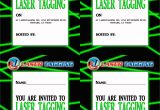 Birthday Invitation Template Laser Tag Laser Tag Free Printables Laser Tag Invitations
