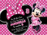 Birthday Invitation Template Minnie Mouse Minnie Mouse Printable Birthday Invitations Free