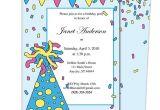 Birthday Invitation Template Powerpoint Birthday Party Invitation Templates Doliquid