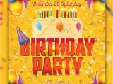 Birthday Invitation Template Psd Free 17 Free Birthday Invitation Templates Psd Designyep