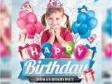 Birthday Invitation Template Psd Free 70 Free Birthday Invite Templates In Psd Premium