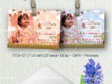 Birthday Invitation Template Psd Free Free Birthday Party Summer Invitation Psd Template by