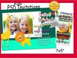 Birthday Invitation Template Psd Free Photoshop Templates Psd for Birthday Invitations Ticket