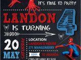 Birthday Invitation Template Spiderman 21 Spiderman Birthday Party Ideas Pretty My Party