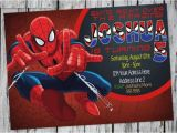 Birthday Invitation Template Spiderman Awesome Spiderman Birthday Invitation Templates Free