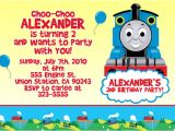 Birthday Invitation Template Train Free attractive Thomas the Train Birthday Invitation Ideas