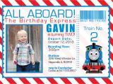 Birthday Invitation Template Train Free Thomas and the Train Birthday Invitations Free Printable