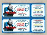 Birthday Invitation Template Train Free Thomas the Train Invitations