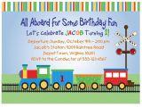 Birthday Invitation Template Train Free Train Invitation 1st Birthday Printable Digital File First