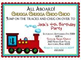 Birthday Invitation Template Train Free Train Invitations Train Invites Train Birthday Invitations