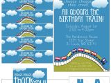 Birthday Invitation Template Train Free Train themed Birthday Party with Free Printables How to