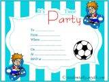 Birthday Invitation Templates Boy Free Free Printable Birthday Invitations Random Talks