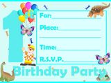 Birthday Invitation Templates Boy Free Free Printable First Birthday Invitations for Boy Free